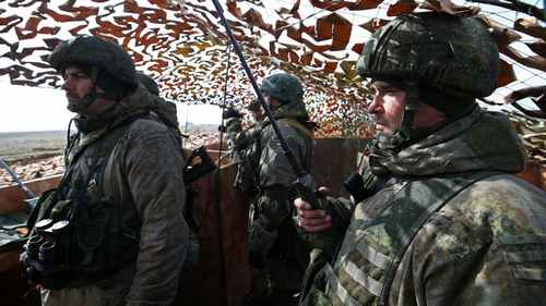 Ukraine Says Russia Massing Troops on Border, U.S. Warns Moscow