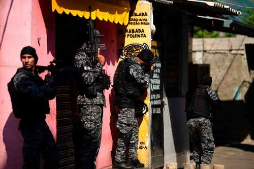 At least 25 dead in police shootout with drug gang in Rio de Janeiro