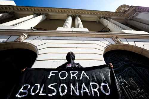 Brazilians stage nationwide protests against Bolsonaro's Covid response
