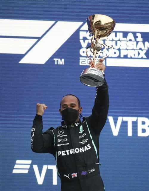 Hamilton Claims 100th Win Amid High Drama in Russia