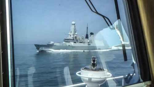 Russia Counters Britain in the Black Sea